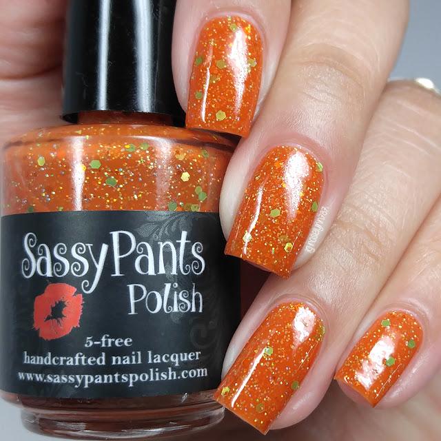 Sassy Pants Polish - Halloween Hussy