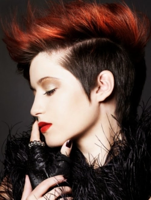 Short Punk Hairstyles For Teenagers Stephig 2015