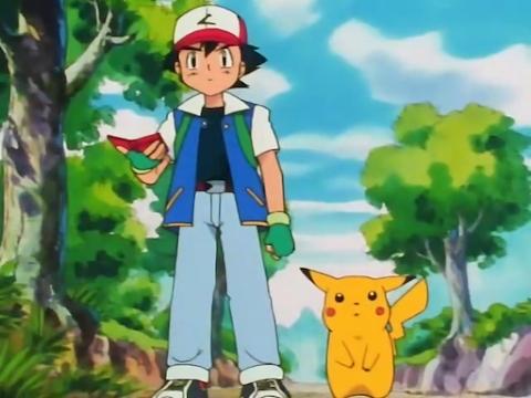 Capitulo 1 Temporada 1: ¡Pokemón, yo te elijo!