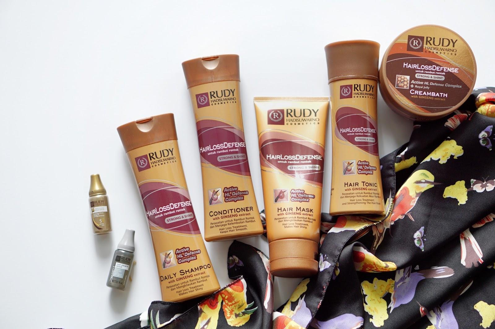Rudy Hadisuwarno Cosmetics Hair Loss Defense Review 7aae80d73f