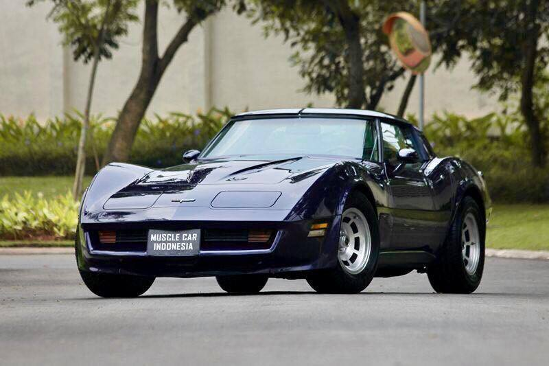 1982 Chevrolet Corvette Stingray 350front View