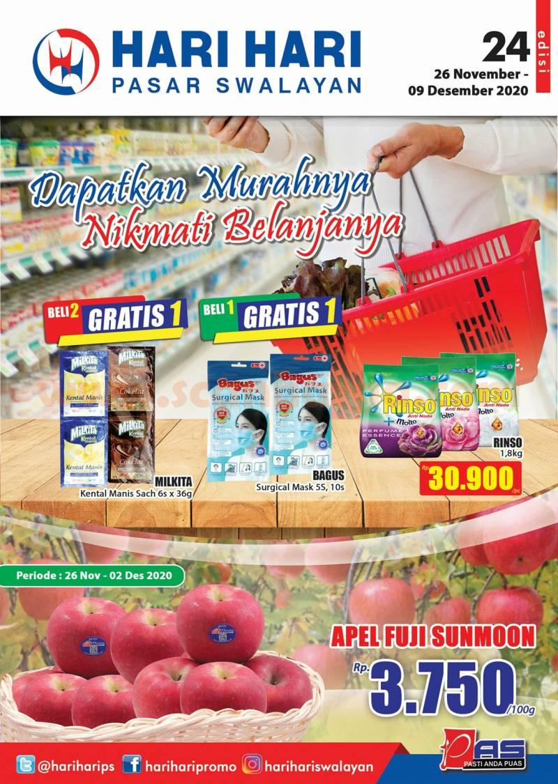 Katalog Promo Hari Hari Pasar Swalayan 26 November - 9 Desember 2020 1
