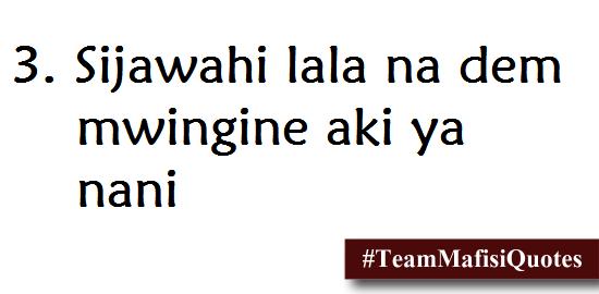 Team Mafisi Quotes
