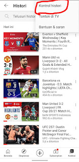 Cara Menghapus History Youtube Lewat Aplikasi Youtube Android