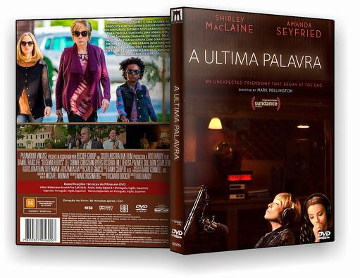 DVD-R A ULTIMA PALAVRA  – AUTORADO
