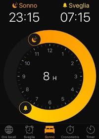 Calcolare ore di Sonno su iPhone per sapere quanto dormire