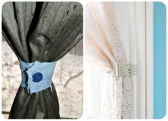 manualidades, labores, sujetadores cortinas, decoración