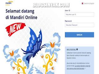 Mandiri Online | Blogsinyak