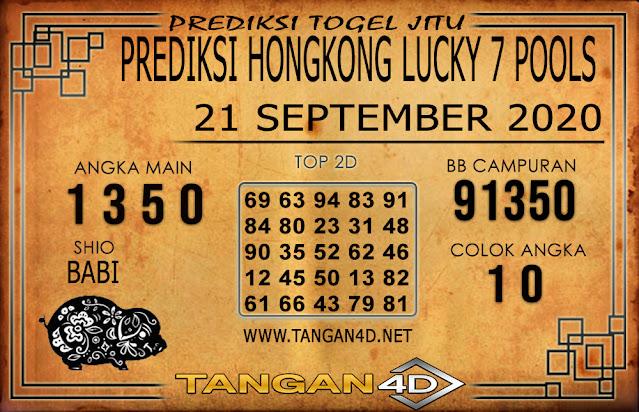 PREDIKSI TOGEL HONGKONG LUCKY 7 TANGAN4D 21 SEPTEMBER 2020
