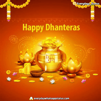 Dhanteras Images Download | Everyday Whatsapp Status | FREE UNIQUE 50+ happy Dhanteras Inages Download