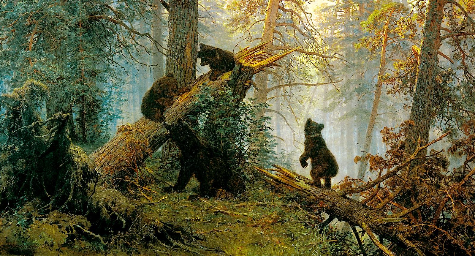Шишкин учился писать пейзажи в Дюссельдорфе