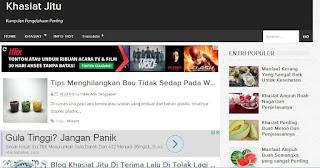 blog khasiat jitu di terima google adsense