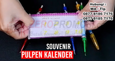 Pulpen Kalender, pulpen Roll Banner, Pen brosur banner, Pen Kalender Untuk Promo Dan Souvenir