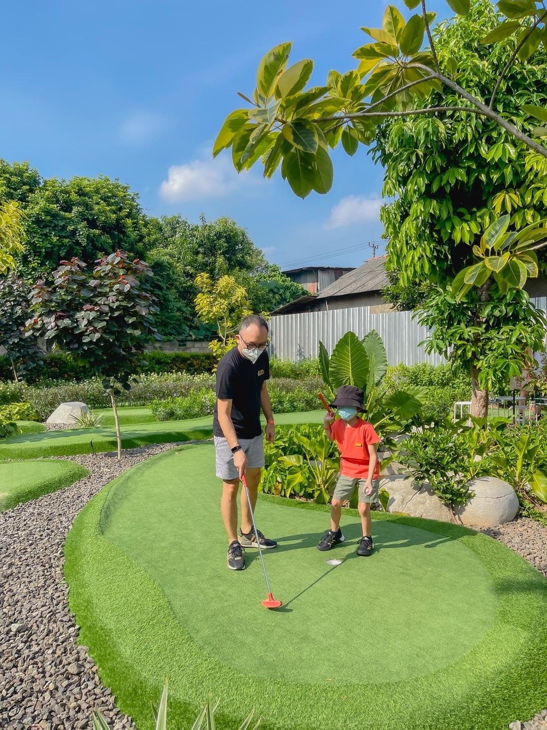 Mini golf kolepa