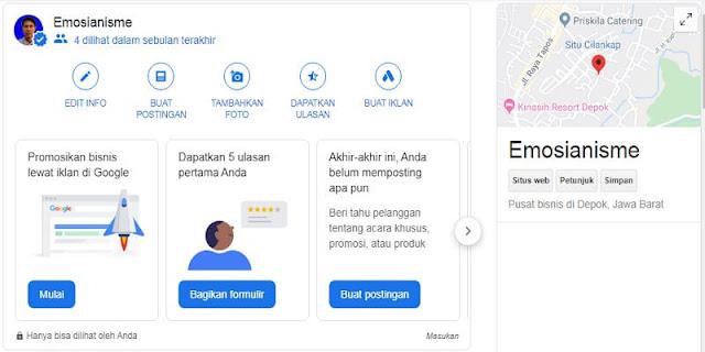 Gambar Jasa Pembuatan Google Bisnisku Murah Dan Terjangkau