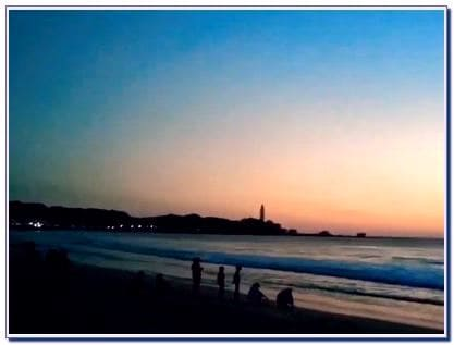 Lokasi Pantai Sambolo