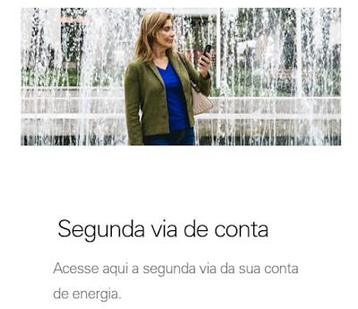Imagem Página de acesso a Segunda via Enel Ceará