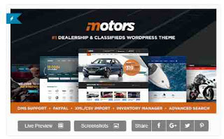 Download Theme Wordpress Rental And Car Dealer