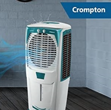 Crompton Ozone 75-Litres Desert Air Cooler For Effective Cooling with Low Electricity Consumption