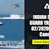 Indian Coast Guard Yantrik 02/2020 Exam Cancelled: CheckHere
