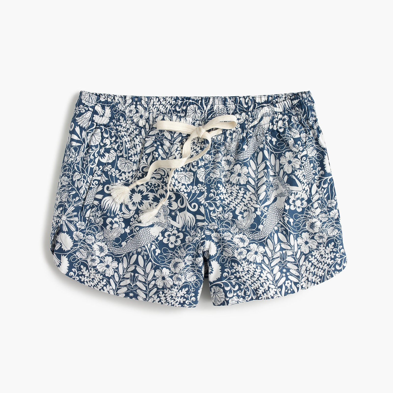 J Crew mermaid shorts