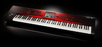 picture of Korg Kronos pro stage piano workstation