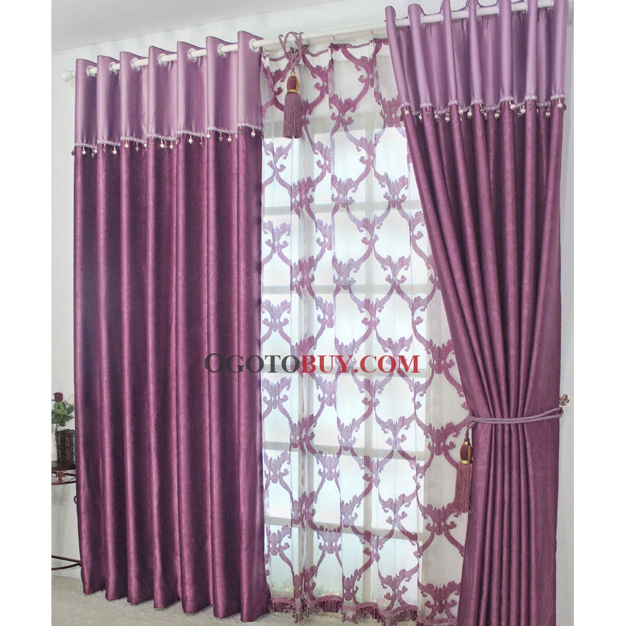 Contemporary Curtains And Drapes For Bedroom Living Room Kitchen