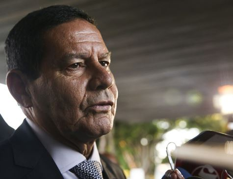 Mourão diz não saber se prisão de funcionários da Vale foi atitude mais correta