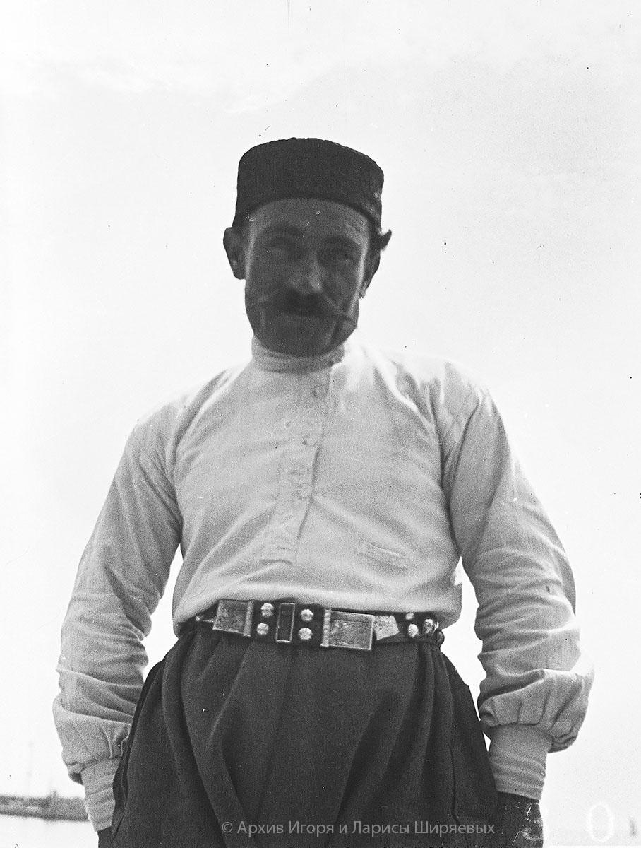 Старое фото Крыма. Крымский татарин