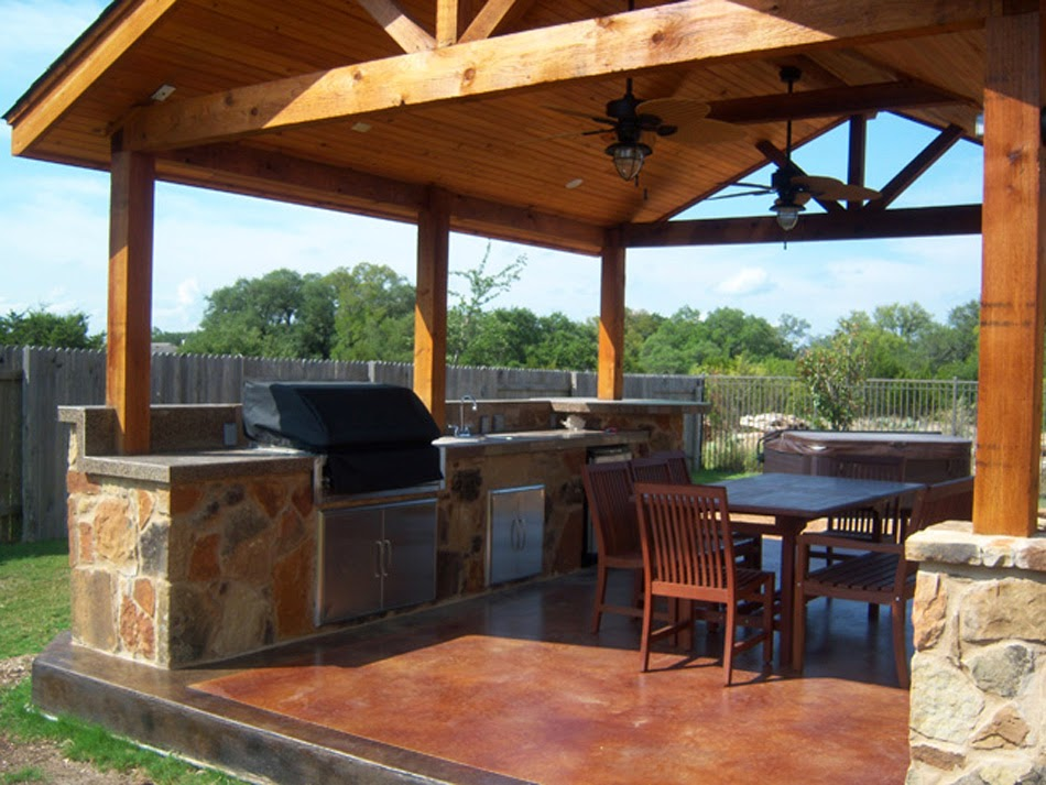 Free Standing Patio Cover Designs: DIY Steps - AyanaHouse on Backyard Layout Planner id=74466