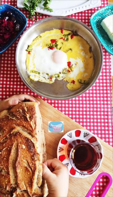 Cevizli ve Keten Tohumlu Ekmek, ekşi mayalı ekmek yapımı