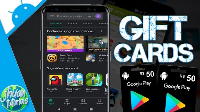 Como ganhar Gift Cards de graça (Créditos na Play Store) 2020