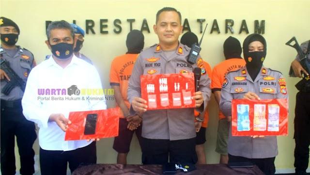 Sembunyikan Sabu di Bawah Pohon Pisang, Tiga Pengedar Narkoba Diringkus Polisi