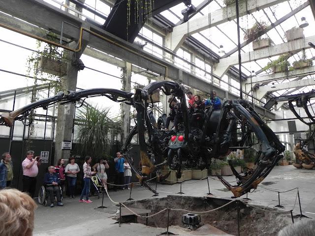 Aranha no Machines de L'île - Nantes - França