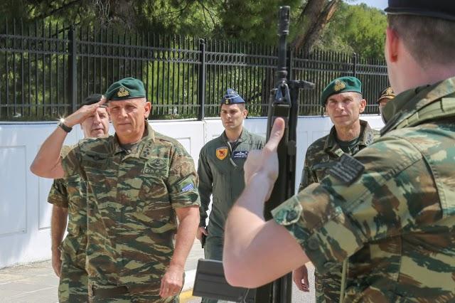 Στην ΑΣΔΕΝ ο Α/ΓΕΕΘΑ Στρατηγός Φλώρος για ενημέρωση και κατευθύνσεις (ΦΩΤΟ)