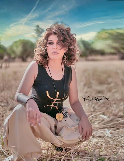 الفنانة التونسية زازا