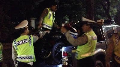 Gerebek Balap Liar di Bone, Belasan Motor Diangkut ke Mapolres