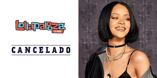Rihanna canceló su presentación el Colombia por miedo a contraer zika
