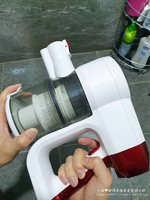 JWAY四合一濕拖除蟎無線吸塵器