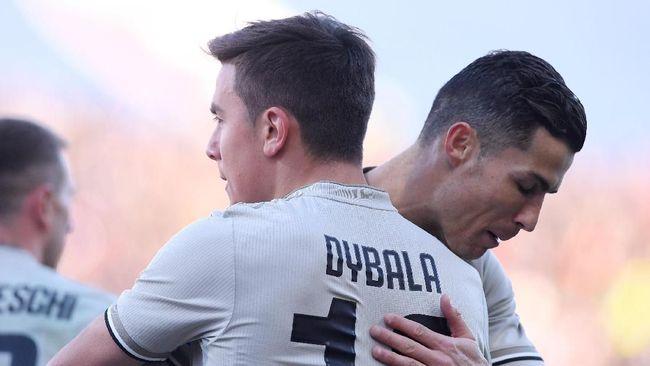 Ronaldo Diberitakan Kesal Usai Dybala Mencetak Gol Untuk Juventus 2019