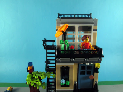 Set LEGO Creator 3in1 31065 Park Street Townhouse