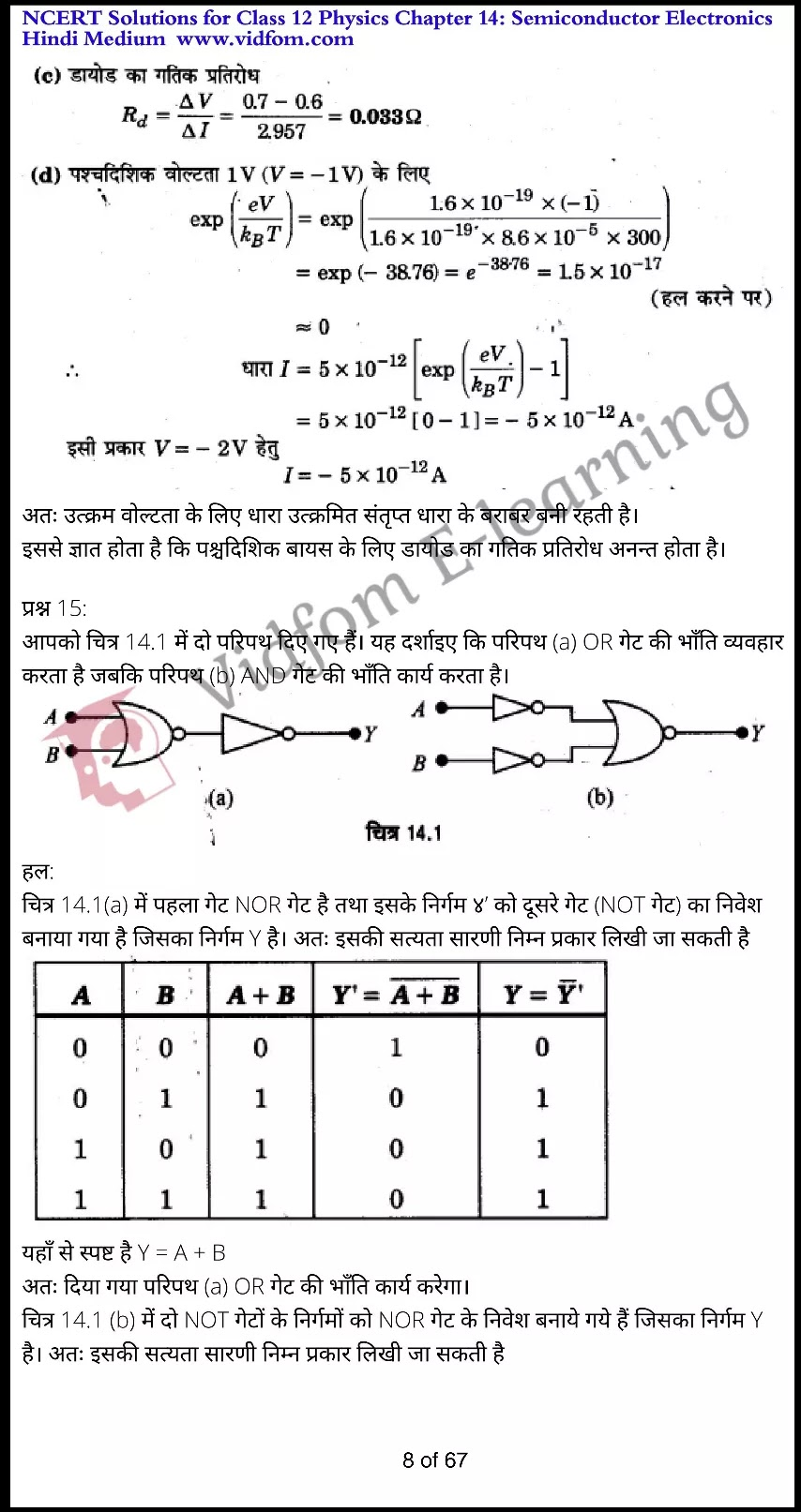 class 12 physics chapter 14 light hindi medium 8