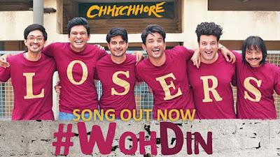 Woh Din Lyrics - Chhichhore| Tushar Joshi and Arijit Singh