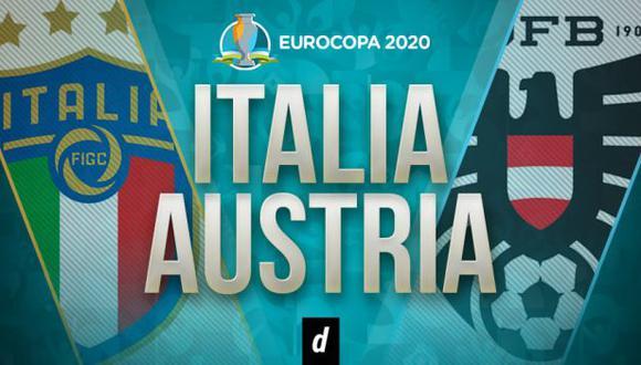 Italia vs. Austria EN VIVO: transmisión del duelo por Eurocopa 2021
