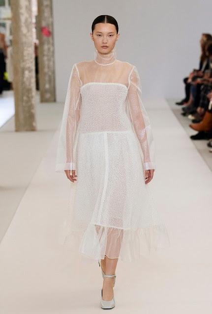 Look 10 collection automne-hiver 2019 de Nina Ricci