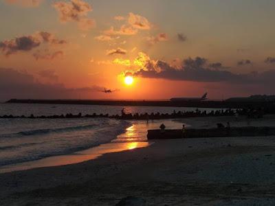sunset pantai kedonganan