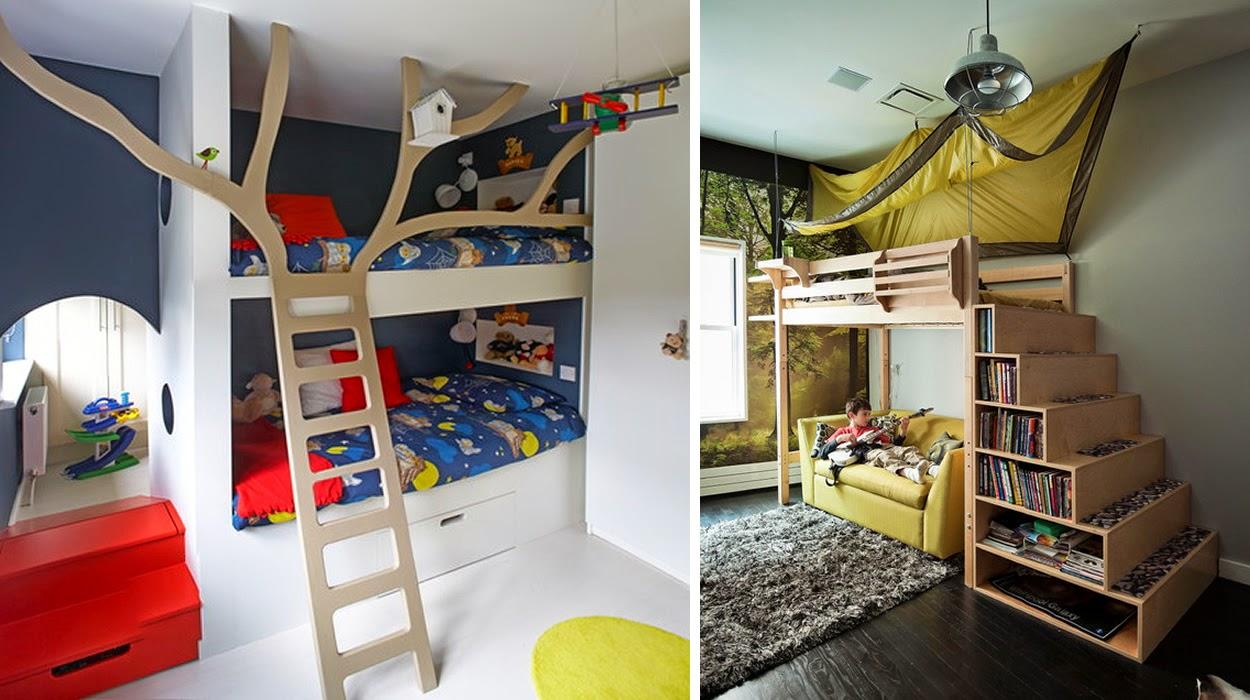M s chicos 6 habitaciones infantiles muy originales - Habitaciones infantiles originales ...