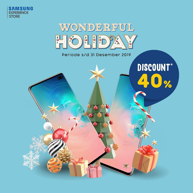 #Erafone - #Promo Wonderful Holiday Samsung Experience 2019 (s.d 31 Des 2019)