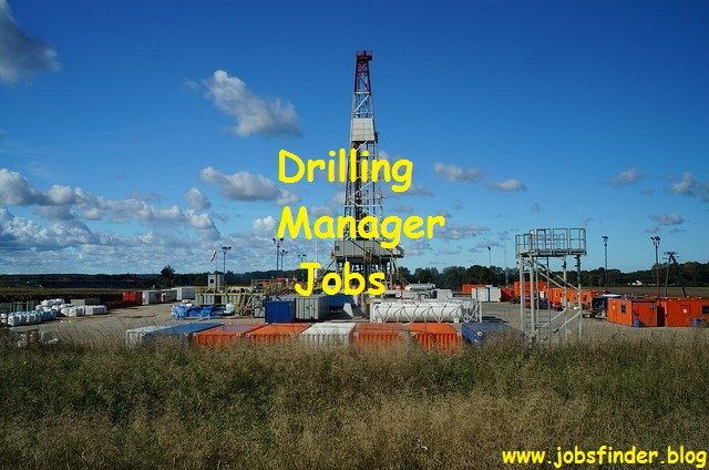 Drilling Manager Jobs