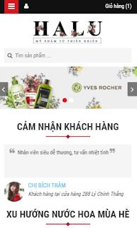 Cosmetic Blogspot bán hàng Mỹ phẩm